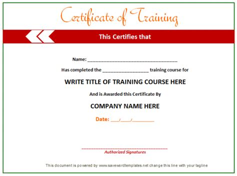 certificate template word joy studio design gallery