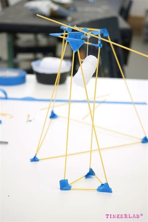 paper tower challenge solution spaghetti tower marshmallow challenge tinkerlab