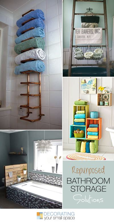 Repurposed Bathroom Storage Solutions Ideas Tutorials Bathroom Storage Solutions Ikea