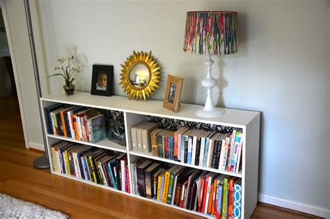 before after the makeover of a roadside book shelf