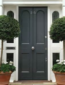 pictures of front doors dark grey edwardian front door exterior house colors