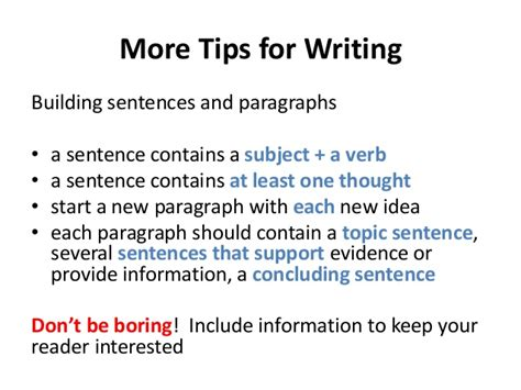 writing a great research paper tips for writing a great research paper