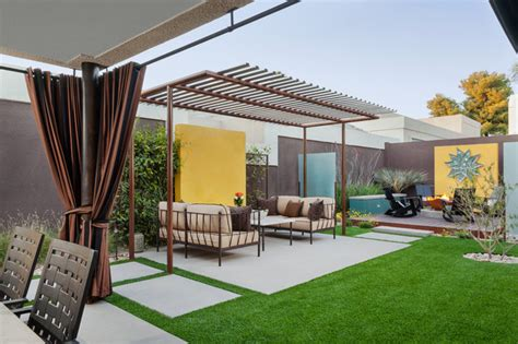 modern home landscaping the colony house modern landscape phoenix by