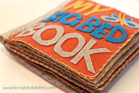 how to make picture books make a diy felt book home made mimihome made mimi