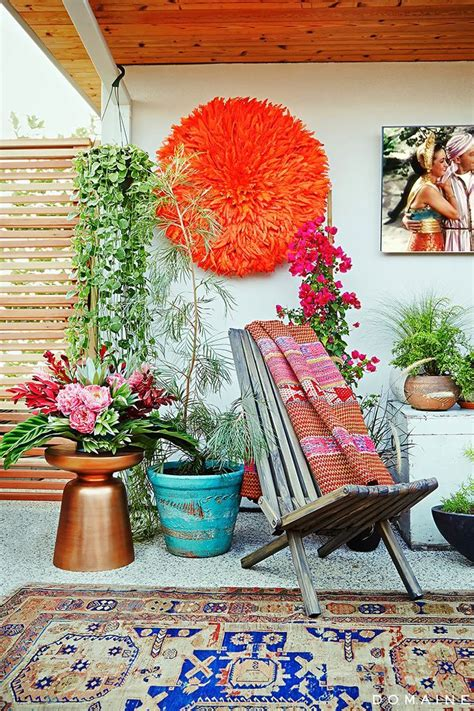 outdoor themed home decor 1000 ideas about bohemian patio on pinterest patio
