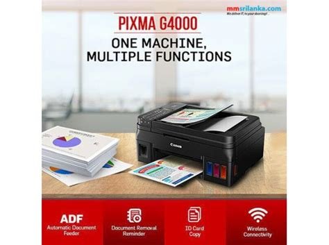 Printer Canon G4000 canon pixma g4000 all in one ink tank system printer