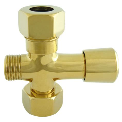 Clawfoot Tub Faucet With Diverter by Kingston Polished Brass Shower Diverter Button For Use