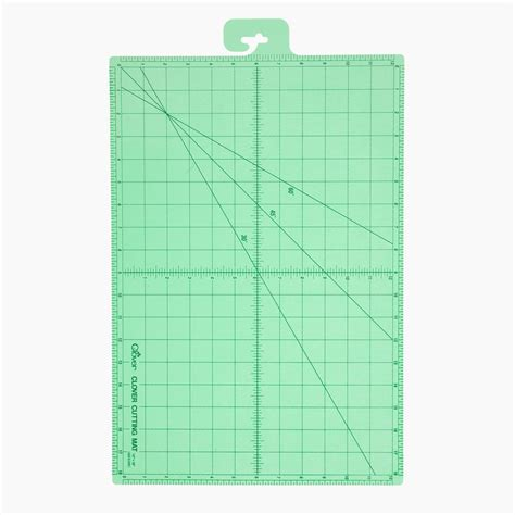 Fabric Cutting Mat by Clover Self Healing Cutting Mat 12 Quot X 18 Quot Discount