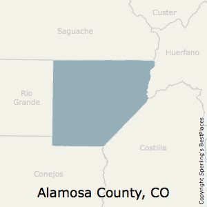 best places to live in alamosa county colorado