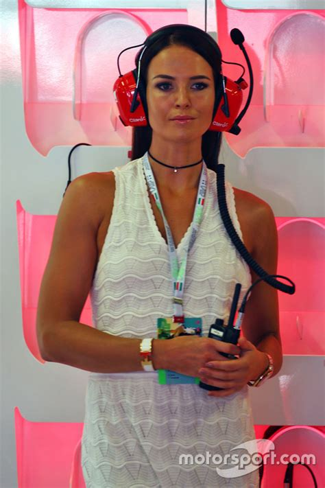 minttu virtanen partner of kimi raikkonen ferrari at