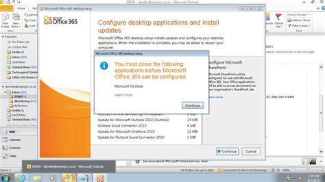 getting started office 365 desktop setup for office
