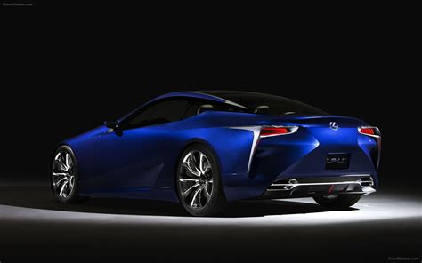 lexus lf lc blue concept 2012 widescreen car image