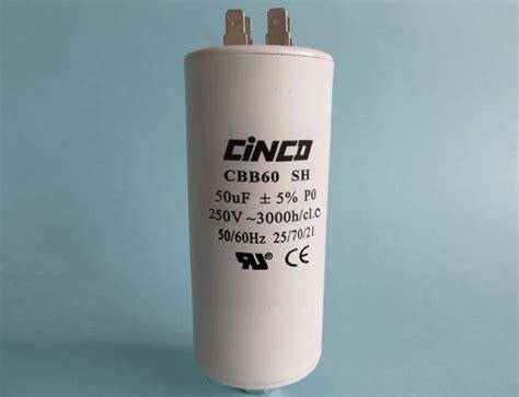 250vac capacitor 50uf 250vac cbb60a motor run capacitors 4pins cinco capacitor china ac capacitors factory