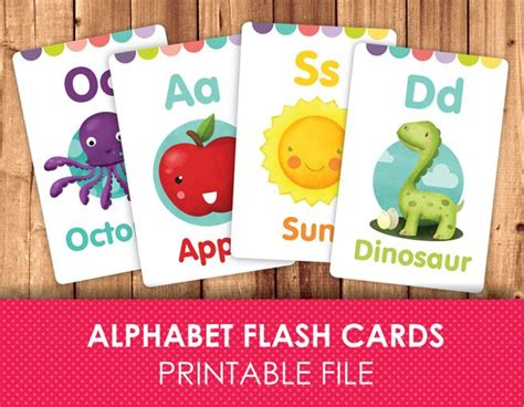 diy alphabet flash card template flashcards for printable flash cards abc flashcards