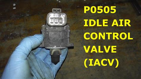 Soket Iacv Idle Air Valve Hyundai Accent how to test and replace idle air valve p0505 hd