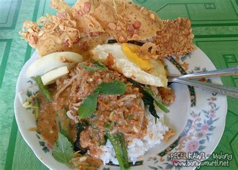 kuliner malang sarapan  pecel kawi wisata kuliner