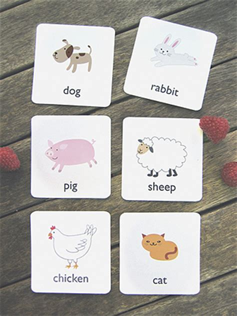 printable animal cards free giant baby steps printable flash cards from mr printables