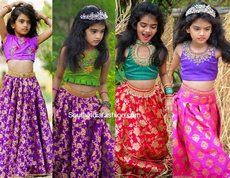 kids lehengas fashion trends south india fashion lehengas fashion trends south india fashion
