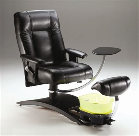 No Plumbing Pedicure Chair by More Luxury Less Water Health Nails Magazine