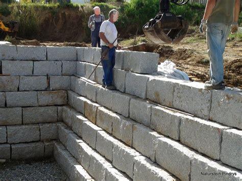 granit mauersteine 40x40x80 cm quot grau mittelkorn