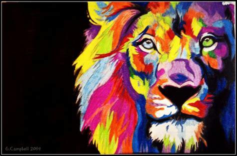 wallpaper colorful lion rainbow lion wallpaper wallpapersafari