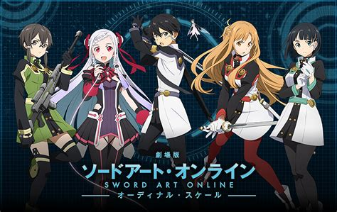 anime full movie sword art online movie ordinal scale full hd wallpaper