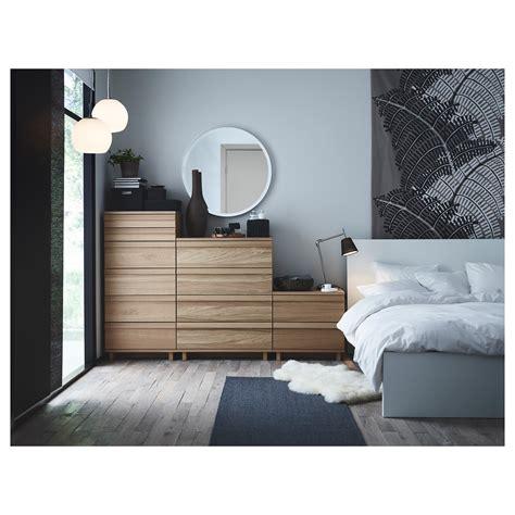 oppland bed frame king ikea oppland chest of 2 drawers oak veneer 60x57 cm ikea
