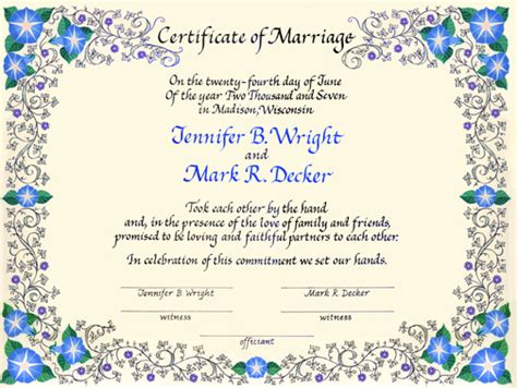 quaker wedding certificates 2 by margaret davis