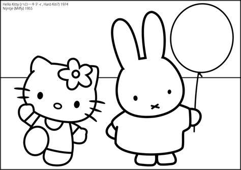 Miffy Coloring Pages Coloring Home Printables Coloring Pages L