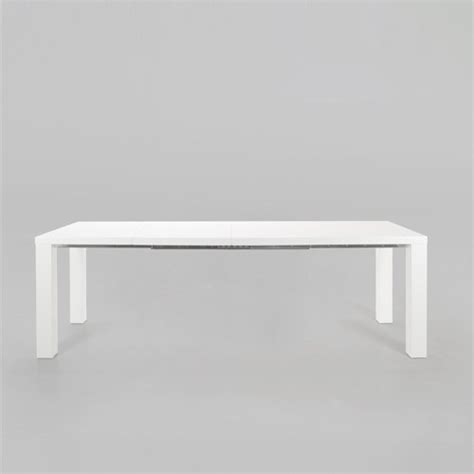 White Gloss Meeting Table Lounge Zone Dining Table Dining Room Table Conference Table Spicie White High Gloss Extendable