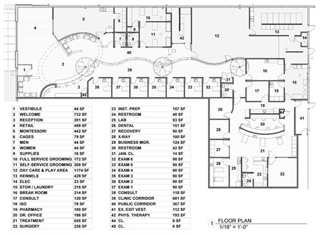 veterinary floor plans 2016 veterinary economics hospital design people s choice