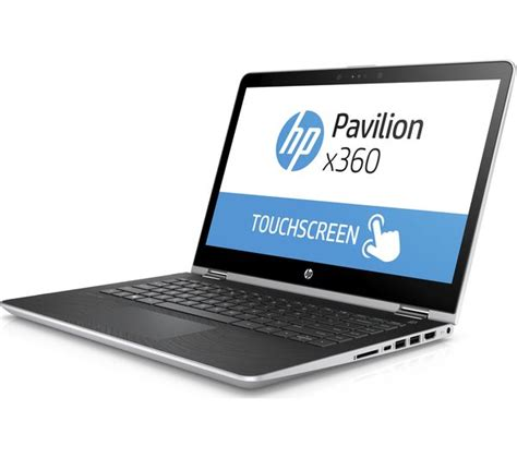 Hp 14 Bs015tu Silver buy hp pavilion x360 14 ba055sa 14 quot 2 in 1 silver free delivery currys