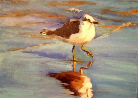 painting the sea people and birds with watercolor basics norma wilson art norma wilson original oil sea gull bird