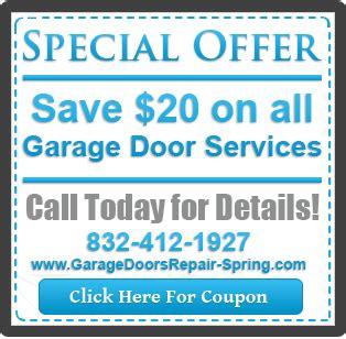 Garage Door Repair Coupons Garage Door Parts 24hr Garage Door Repair Installation Maintenance