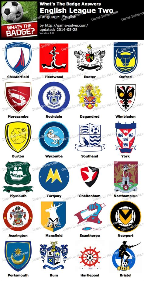 what s the whats the badge league two answers solver
