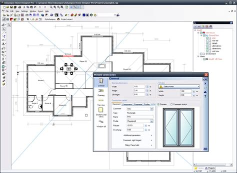 free floor plan download plattegrond programma software gratis te downloaden