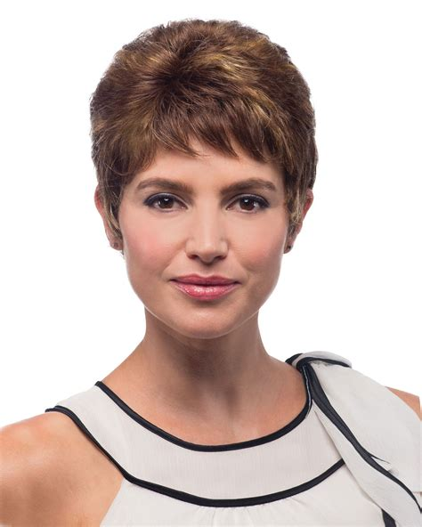 itip extensions in pixie 100 hand tied pixie wig with bangs short wigs for black
