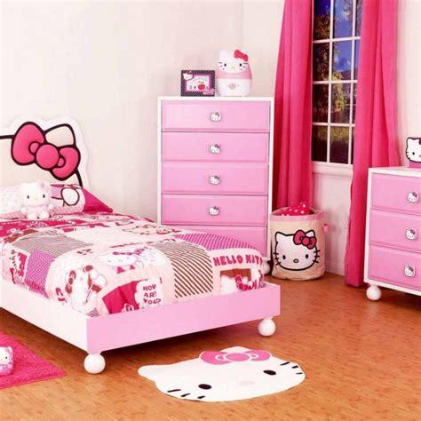 desain kamar ulang tahun gambar desain kamar hello kitty lucu dan cantik gambar