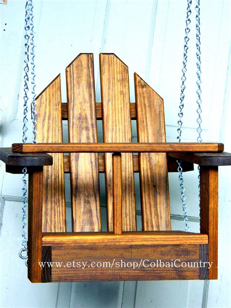 wooden baby swing outdoor kid toddler child tree or porch wooden swing or by