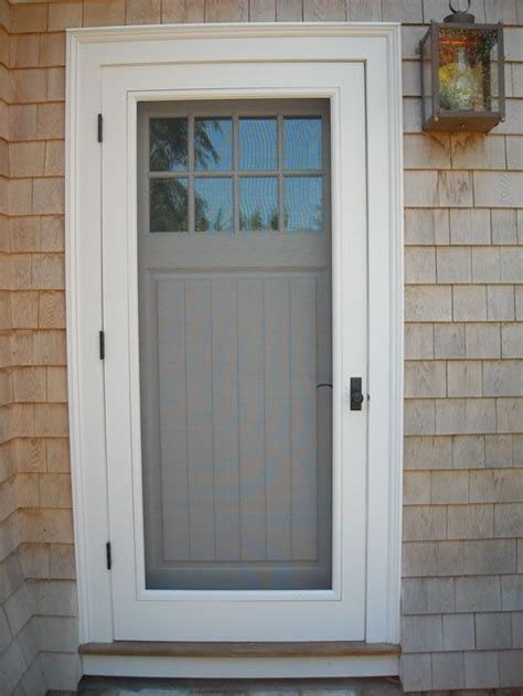 exterior doors with screens best 25 doors ideas on front screen