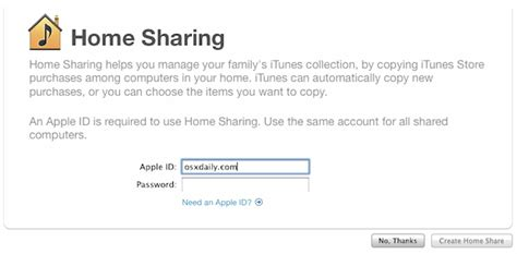 how to setup use itunes home