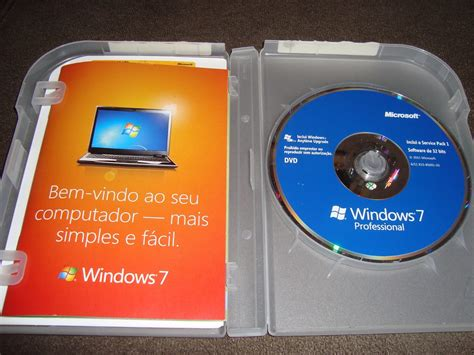 Windows Dvd 7 Original dvd windows 7 professional br original vers 227 o 32 64