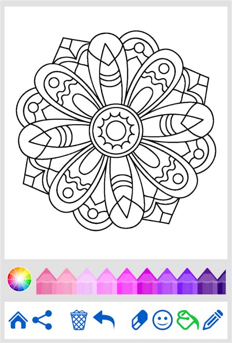 coloring apps for adults mandala coloring for adults android apps on play