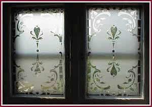 window stencils egress etch in place vertical or large project glass