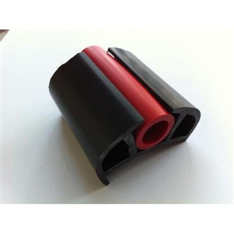 boat d fenders boat d fender black with red insert pvc 20 mtr roll