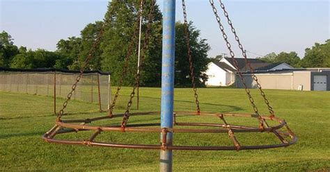 witches hat swing old witches hat playground equipment who remembers this
