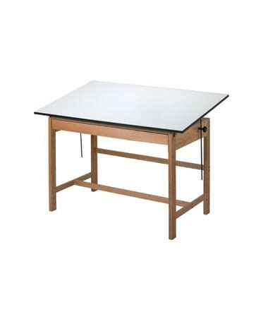 Solid Wood Drafting Table Alvin Titan Solid Oak Wood Drafting Table Wtb42 Tiger Supplies