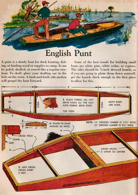 cambridge punt boat plans free punt plans krypa weidling boat pinterest