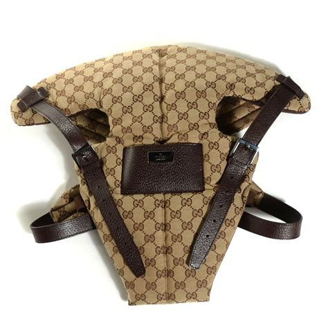 Gucci Baby Carrier Favorite by Gucci Monogram Baby Carrier Brown 108353