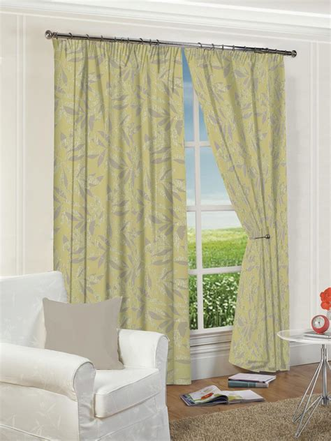 drapes ottawa ottowa green lined pencil pleat curtains harry corry limited